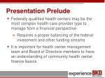 presentation prelude3