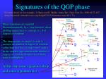 signatures of the qgp phase