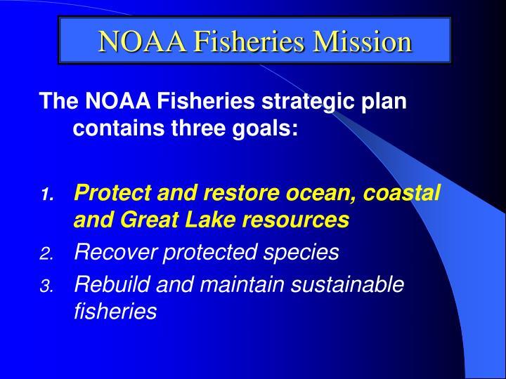 NOAA Fisheries Mission