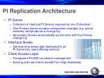 pi replication architecture