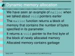 dynamic memory allocation2