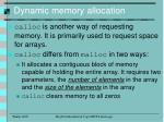 dynamic memory allocation6