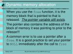 dynamic memory allocation9