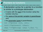 pointers to functions2