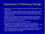 importance of preliminary rulings
