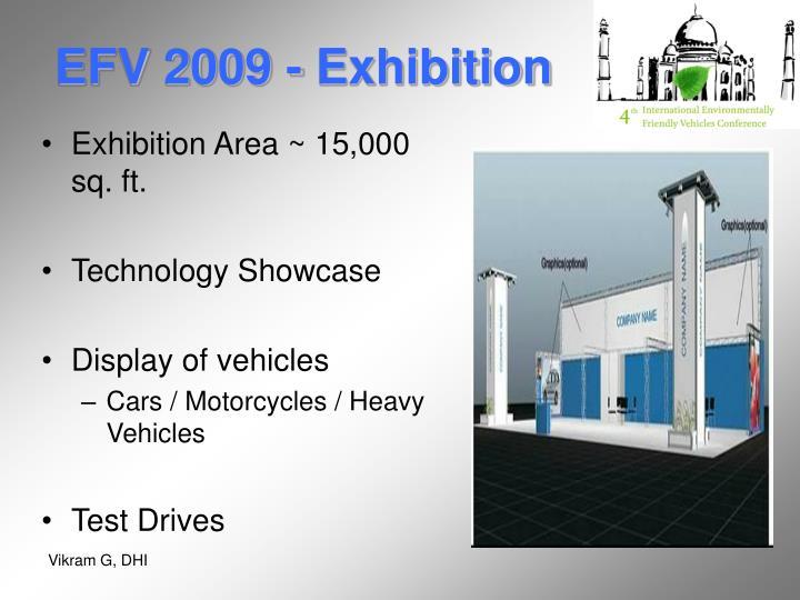 EFV 2009 - Exhibition