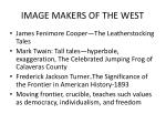 image makers of the west