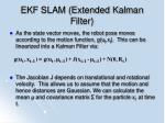 ekf slam extended kalman filter