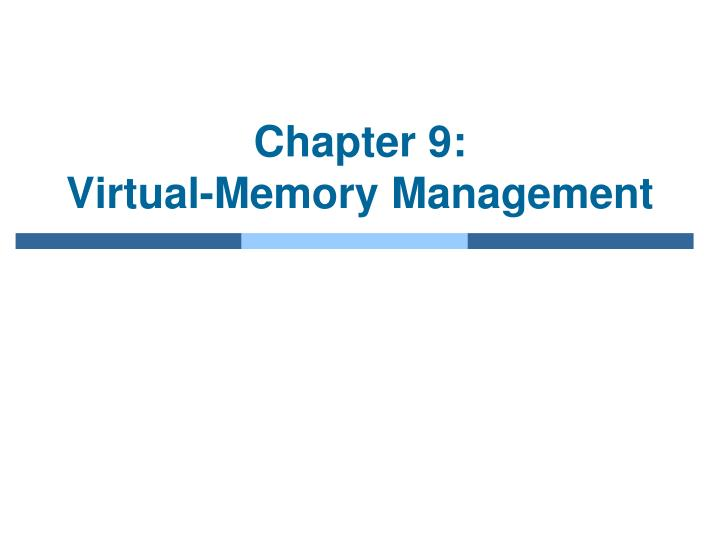 chapter 9 virtual memory management n.