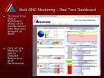 multi dnc monitoring real time dashboard