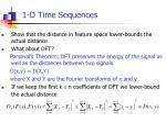 1 d time sequences4