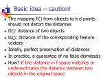 basic idea caution1