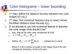 color histograms lower bounding1