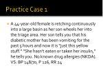 practice case 1