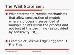 the wait statement3