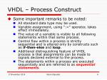 vhdl process construct2