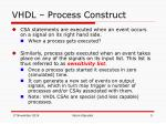 vhdl process construct3