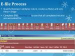 e file process
