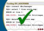 testing dv acctmgr1