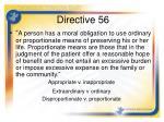 directive 56