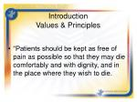 introduction values principles1