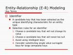 entity relationship e r modeling key terms2