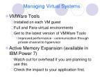 managing virtual systems1