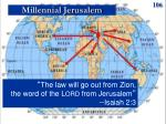 millennial jerusalem