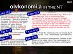 oivkonomi a in the nt