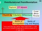 pretribulational premillennialism