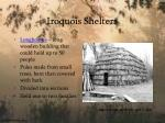 iroquois shelters