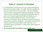 slide 32 scenario 2 revisited
