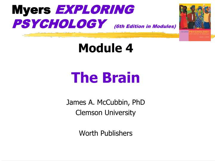myers exploring psychology 6th edition in modules n.