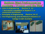 madison west pre engineering academy project lead the way