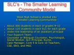 slc s the smaller learning community model