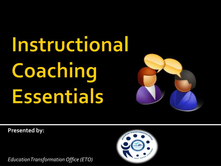 instructional coaching essentials n.