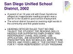 san diego unified school district 2002