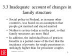 3 3 inadequate account of changes in family structure