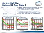 surface stability r dsand ii case study 2