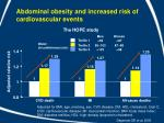 abdominal obesity and increased risk of cardiovascular events