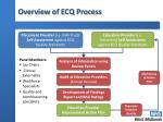 overview of ecq process