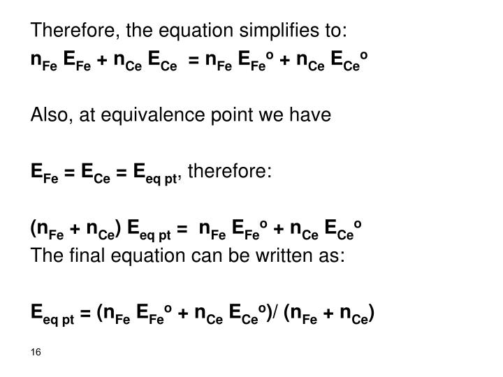 Therefore, the equation simplifies to: