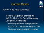 current cases6
