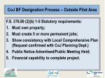 coj bf designation process outside pilot area1