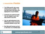 3 hosted epm is flexible