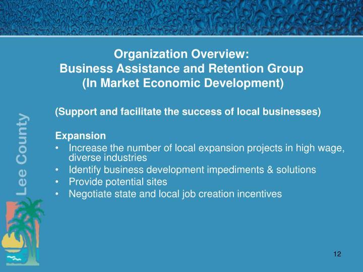 Organization Overview: