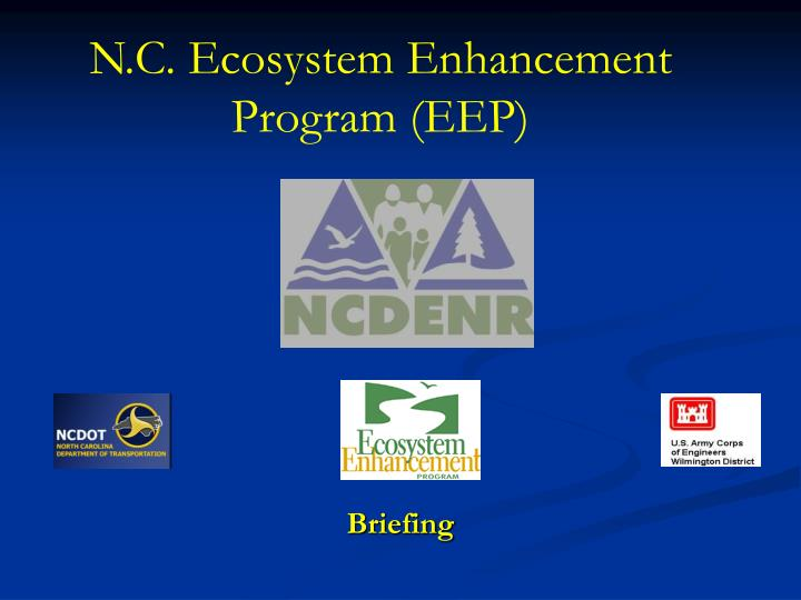n c ecosystem enhancement program eep n.