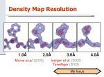 density map resolution