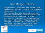 blue badge scheme1