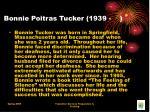 bonnie poitras tucker 1939